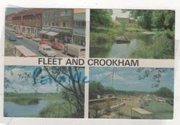 NORTH HAMPSHIRE - CP 4 VIEWS FLEET AND CROOKHAM - CARS - ROE & KITTREDGE Ltd. Of Fleet Hampshire - CIRCULEE - Autres