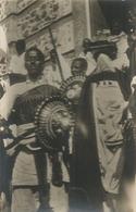 ERITREA FOTOCARTOLINA GUERRIERI ABISSINI -FP - Eritrea