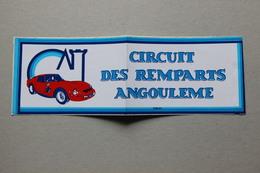 Autocollant : Circuit Des Remparts Angoulême (Charente) - Automobile - F1
