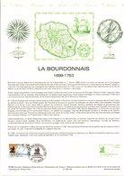 DOCUMENT FDC 1988 LA BOURDONNAIS - Documents De La Poste