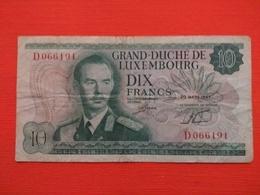 Luxembourg , 10 Francs 1967, Série D - Luxemburg