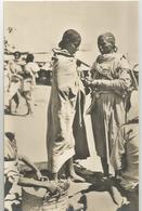 ERITREA FOTOCARTOLINA DONNE ABISSINE AL MERCATO -FP - Eritrea