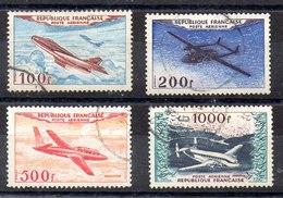 Serie De Francia Aéreo N ºYvert 30/33 (o) - Curiosidades: 1970-79 Usados