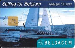 TC-PUBLIC-BELGACOM-200 BEF-SO3-31/10/2003-CATAMARAN BELGACOM--TBE - - Belgique