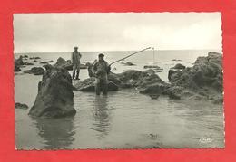 CPSM  Sotteville-sur-Mer (76) Pêche à La Balance - Autres Communes