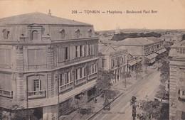 HAIPHONG / LE BOULEVARD PAUL BERT / - Viêt-Nam