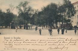 CPA - Belgique - Brussels - Bruxelles - Boulevard De Waterloo - Lanen, Boulevards