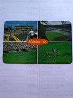 México Postcard World Cup México 86 AND Azteca Stadium - Mexico