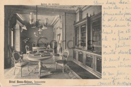 Switzerland - Lausanne - Hotel Beau-Sejour - Salon De Lecture - VD Vaud