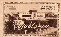 MAROC-CARNET DE 20 CPA DE CASABLANCA - Casablanca