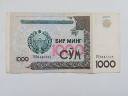 UZBEKISTAN 1000 SUM 2001 - Oezbekistan