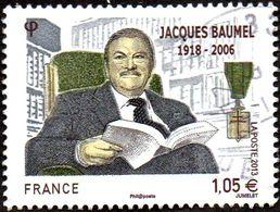 Oblitération Cachet à Date Sur Timbre De France N° 4754 - Personnage - Jacques Baumel - Used Stamps