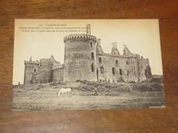 PRESQU'ILE DE RHUYS / Chateau De Suscino - Unclassified