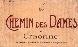 02-CARNET DE 20 CPA DU CHEMIN DES DAMES ET CRAONNE - Craonne