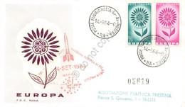 FDC Rodia Repubblica 1964 - Europa CEPT - Timbro Rassegna Filatelica - Francobolli
