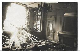 CPA  De  SAINT-QUENTIN  (02)  -   Incendie  Chez  SERET  -  Le  Patron  De  Charles,  Le  Salon    //    TBE - Saint Quentin