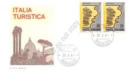 FDC Rodia Repubblica 1966 - Italia Turistica - Non Viaggiata - Francobolli