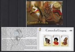 Uruguay (2019) - Booklet -  /  Dress - Dresses - Costumes - Vestidos - Folklore - Carnaval - Culturen
