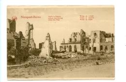 Nieuport-Bains - Après La Guerre - Villas En Ruines / LEGIA - Nieuwpoort