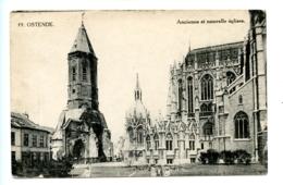 Ostende - Ancienne Et Nouvelle  églises - Oostende