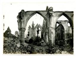 Nieuport - Photo Ancien Juin 1916 - L'Eglise De Nieuport (12cm-17cm) - Nieuwpoort