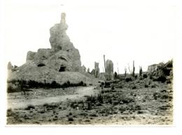 Nieuport - Photo Ancien Septembre 1918 - La Tour Des Templiers (12cm-17cm) - Nieuwpoort