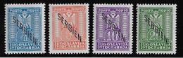 Serbie Taxe N°5/8 - Neuf * Avec Charnière - TB - Serbien