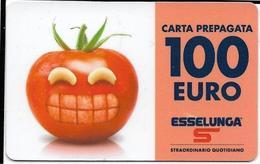 6-ESSELUNGA-CARTA PREPAGATA 100,00 EURO(ESAUSTA) - Carte Di Credito (scadenza Min. 10 Anni)