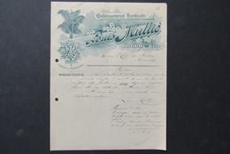 Factuur Invoice Louis Mullie Gent Zaffelare 1906 Horticole Horticulteur Neerenhoek - Belgique