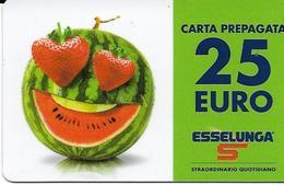 6-ESSELUNGA-CARTA PREPAGATA 25,00 EURO(ESAUSTA) - Carte Di Credito (scadenza Min. 10 Anni)