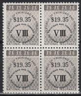 Trinidad & Tobago (1990) Sc. R10 - Block Of 4 - Trinidad En Tobago (1962-...)
