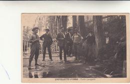 Castelletto D'Orba, Fonte Lavagello. Cartolina Viaggiata 1926 - Alessandria