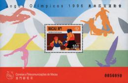 Ref. 71132 * NEW *  - MACAO . 1996. GAMES OF THE XXVI OLYMPIAD. ATLANTA 1996. 26 JUEGOS OLIMPICOS VERANO  ATLANTA 1996 - 1999-... Région Administrative Chinoise