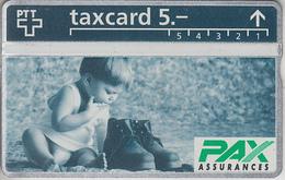 SUISSE - PHONE CARD - TAXCARD-PRIVÉE ***  PAX-ASSURANCES 2 *** - Svizzera