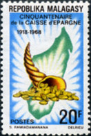 Ref. 344729 * NEW *  - MADAGASCAR . 1968. CINQUENTENARIO DE LA CAJA DE AHORROS - Madagascar (1960-...)
