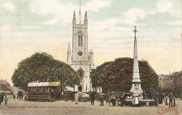 "·Brighton. St.Peter's Church And Fountin"" Tuck Charmette Series PC # 4760 - Quinton, AR"