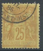 Lot N°47622  N°92, Oblit Cachet à Date - 1876-1898 Sage (Type II)