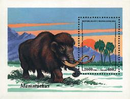 Ref. 69629 * NEW *  - MADAGASCAR . 1994. PREHISTORIC FAUNA. FAUNA PREHISTORICA - Madagascar (1960-...)