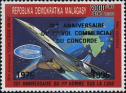 Ref. 595049 * NEW *  - MADAGASCAR . 1996. 20 ANIVERSARIO DEL PRIMER VUELO COMERCIAL DEL CONCORDE - Madagascar (1960-...)