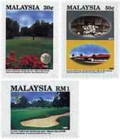 Ref. 91575 * NEW *  - MALAYSIA . 1993. CENTENARY OF SELANGOR ROYAL GOLF CLUB. CENTENARIO DEL REAL CLUB DE GOLF DE SELANG - Malasia (1964-...)