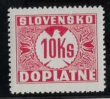 Slovaquie Taxe N°11 - Neuf ** Sans Charnière - TB - Slovacchia
