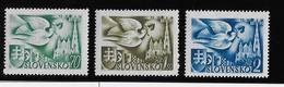 Slovaquie N°74/76 - Neuf ** Sans Charnière - TB - Slovaquie