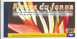 POLYNESIE - 2004 - CARNET DE PRESTIGE YVERT N° C723 ** - FLORE - - Carnets