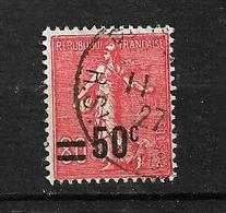 "FRANCE. 1926/27  N°220   "" Type Semeuse Lignée ""    Oblitéré - 1903-60 Semeuse Lignée"