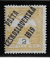Tchécoslovaquie N°66 - Neuf * Avec Charnière - TB - Cecoslovacchia