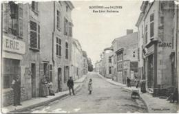 D54 - ROSIERES AUX SALINES - RUE LEON BOCHERON - Tabac-Plusieurs Personnes-Brouette - France