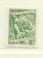 YOUGOSLAVIE  ( EU - 1400 )  1953  N° YVERT ET TELLIER  N° 604   N** - Neufs