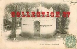 BLIDA < BOIS SACRE - MARABOUT - CARTE VOYAGÉE 1903 - BLIDAH ALGERIE - Blida