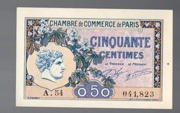 Paris Chambre De Commerce 1920 Billet De CINQUANTE CENTIMES (neuf) (PPP18012) - Chamber Of Commerce