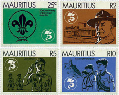Ref. 38651 * NEW *  - MAURITIUS . 1982. 70th ANNIVERSARY OF THE SCOUTS IN MAURITIUS. 70 ANIVERSARIO DEL ESCULTISMO EN MA - Mauricio (1968-...)